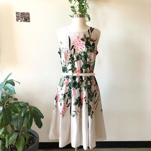Tommy Hilfiger floral pleated dress